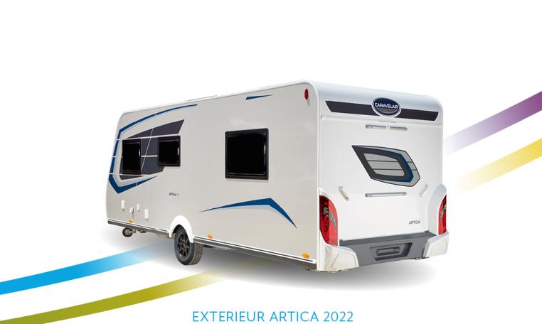 Caravelair Artica exterieur Back 2022
