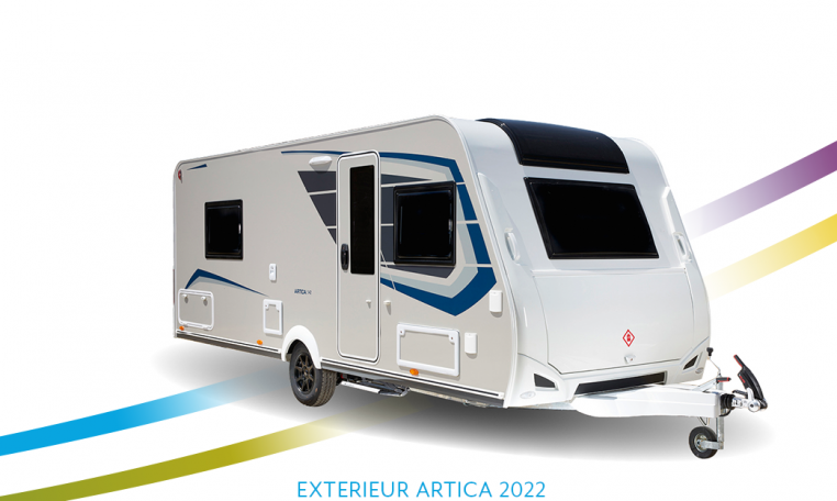 Caravelair Artica exterieur front 2022